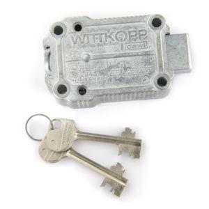 dubbelbaard sleutelslot
