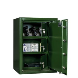 Pistool en Munitiekluis MSP-2 - Mustang Safes