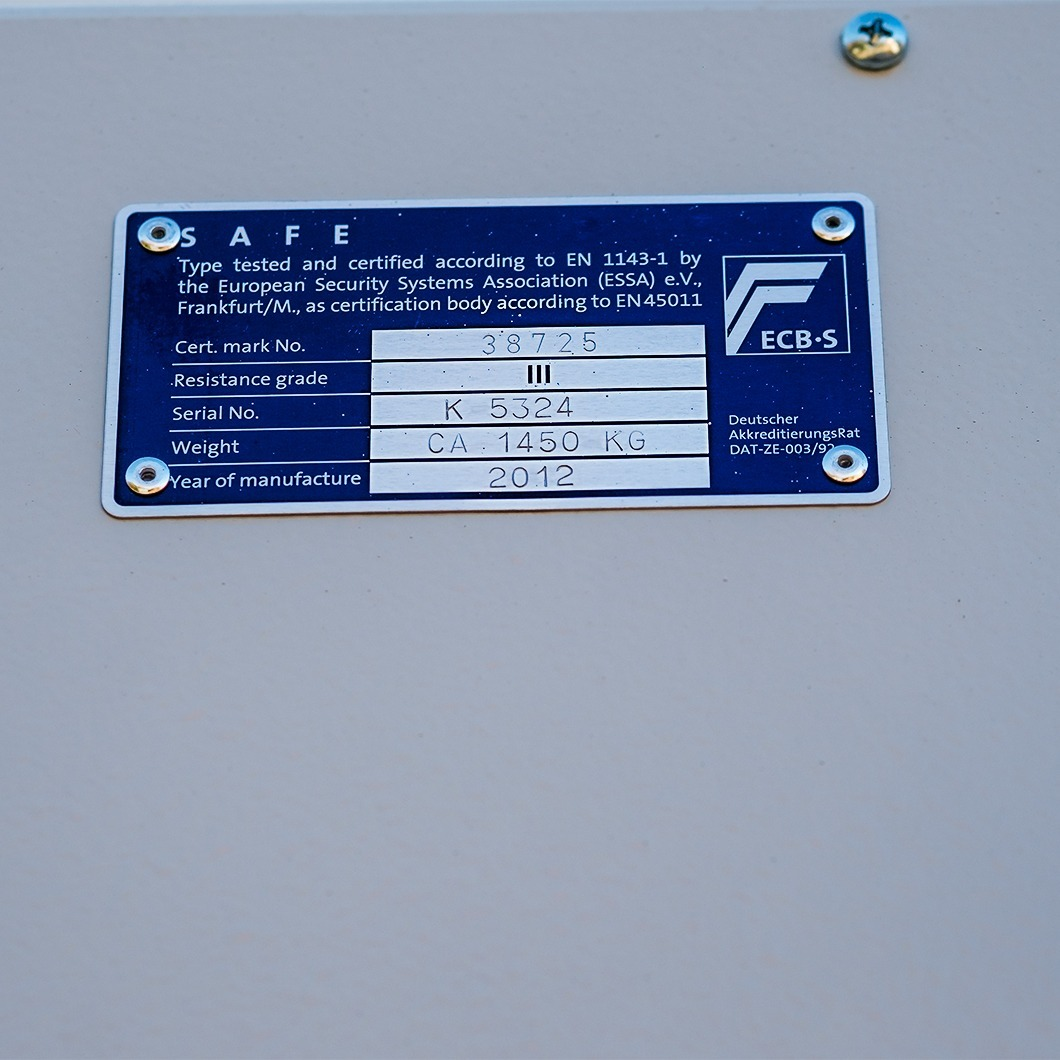Occ 1478 Sistec Euroguard SE III -180 / elo slot / 2 GradeIII / ON241608