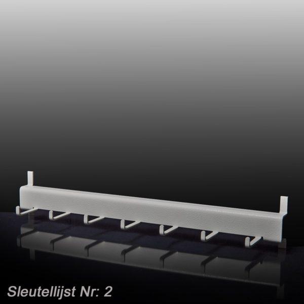 Sleutellijsten Voor MSK- Sleutekluizen - Mustang Safes
