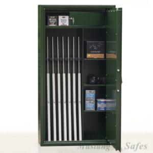 Wapenkluis overjarig model met Elektronisch codeslot - Mustang Safes