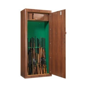 Wapenkluis met houtafwerking MS Scudo 1908545 - Mustang Safes