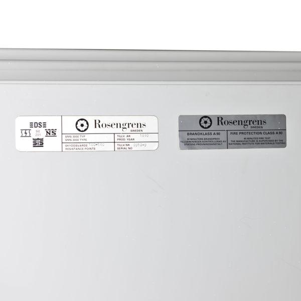 OCC 1500 Rosengrens brandkast - Mustang Safes