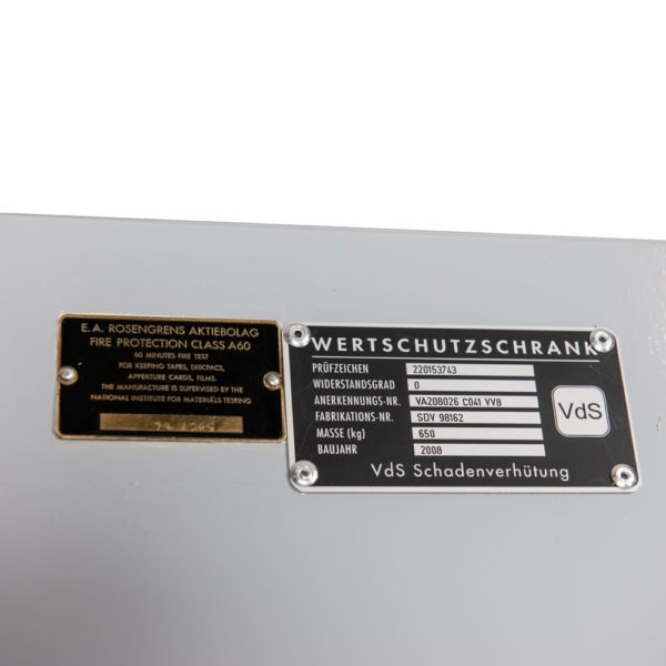 OCC 1521 Rosengrens wapenkluis - Mustang Safes