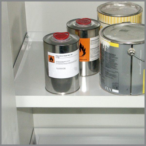 Brandwerende enkeldeurs veiligheidskast voor chemicaliën
