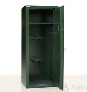 Zadelkluis met legbord voor 2 zadels - Mustang Safes