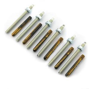 Chemische verankering set 6x MS-CHEM-M10 - Mustang Safes