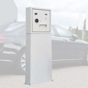 Sleuteluitgifte en aanname systeem op Sokkel - Mustang Safes