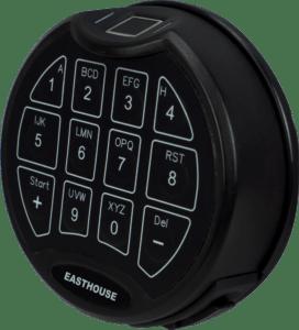 Vingerafdruk kluisslot - Mustang Safes