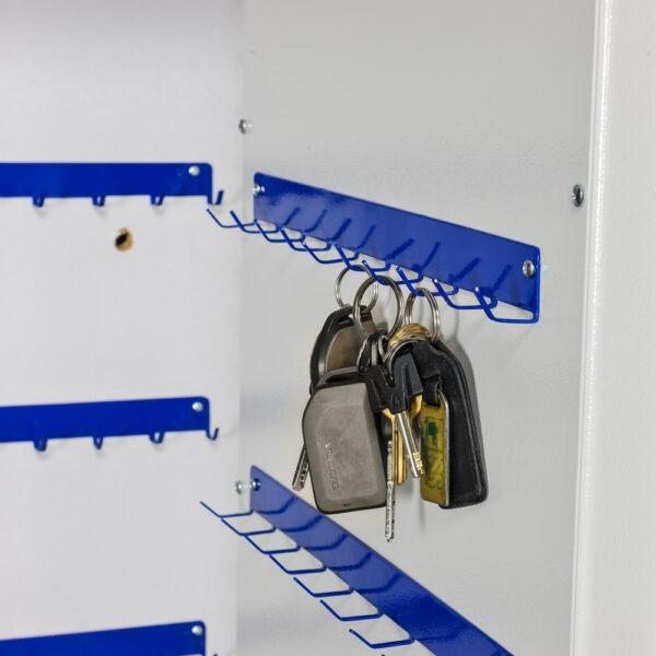 Autosleutelkluis Keysafe met 154 lange haken - Mustang Safes