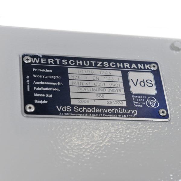 Documentenkluis VDS klasse 0 Occ1576