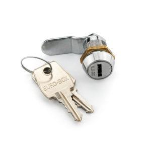 Kluisslot voor binnenkluis 4 stuks (te openen met 1 sleutel) - Mustang Safes