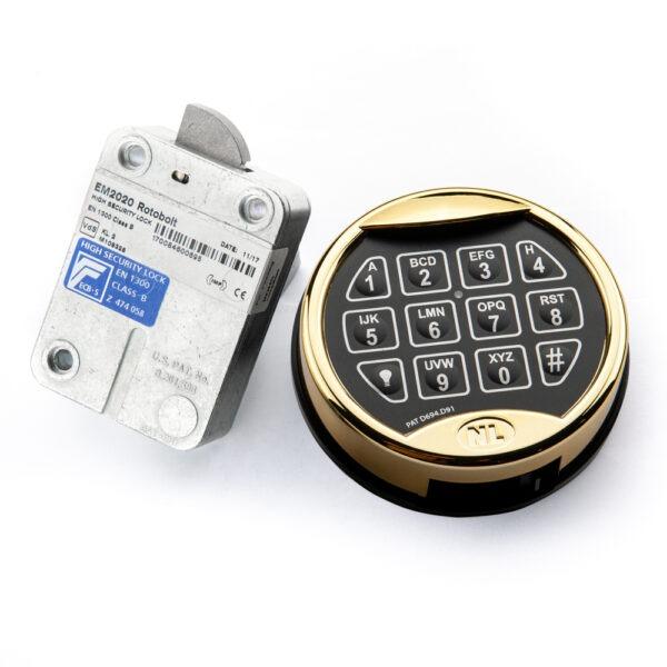 Kluisslot Elektronisch VDS 2 Goud kleur