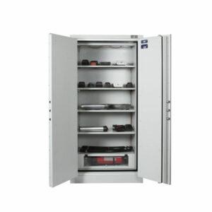 Sistec Lithium-ion inbraak en brandwerende kluis met ingebouwd blussysteem - Mustang Safes