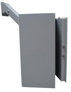 De Raat ET A4 sleutel afstortkluis met elektronisch codeslot - Mustang Safes