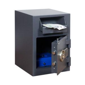 Salvus Monopoli 1 elo afstortkluis met elektronisch codeslot - Mustang Safes