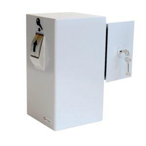 Keysecuritybox KSB101 opbouw sleutel afstortkluis (Rol links, deur rechts) - Mustang Safes