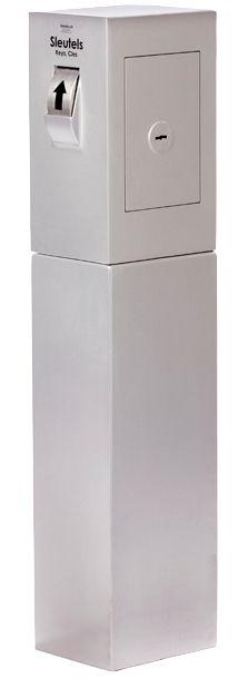 Keysecuritybox console voor de KSB103, verankering op beton