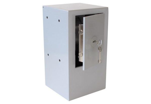 Keysecuritybox KSB102 opbouw sleutel afstortkluis (Rol rechts, deur links)