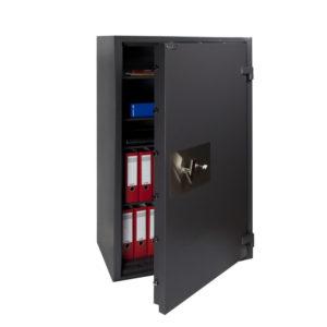 Brand en zwaar inbraakwerende kluis Salvus Milano 10elo Klasse 2 – Elektronisch codeslot - Mustang Safes