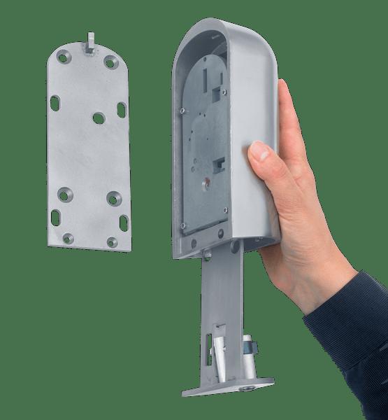 Kruse PZ ServiceSafe opbouw sleutelkluis